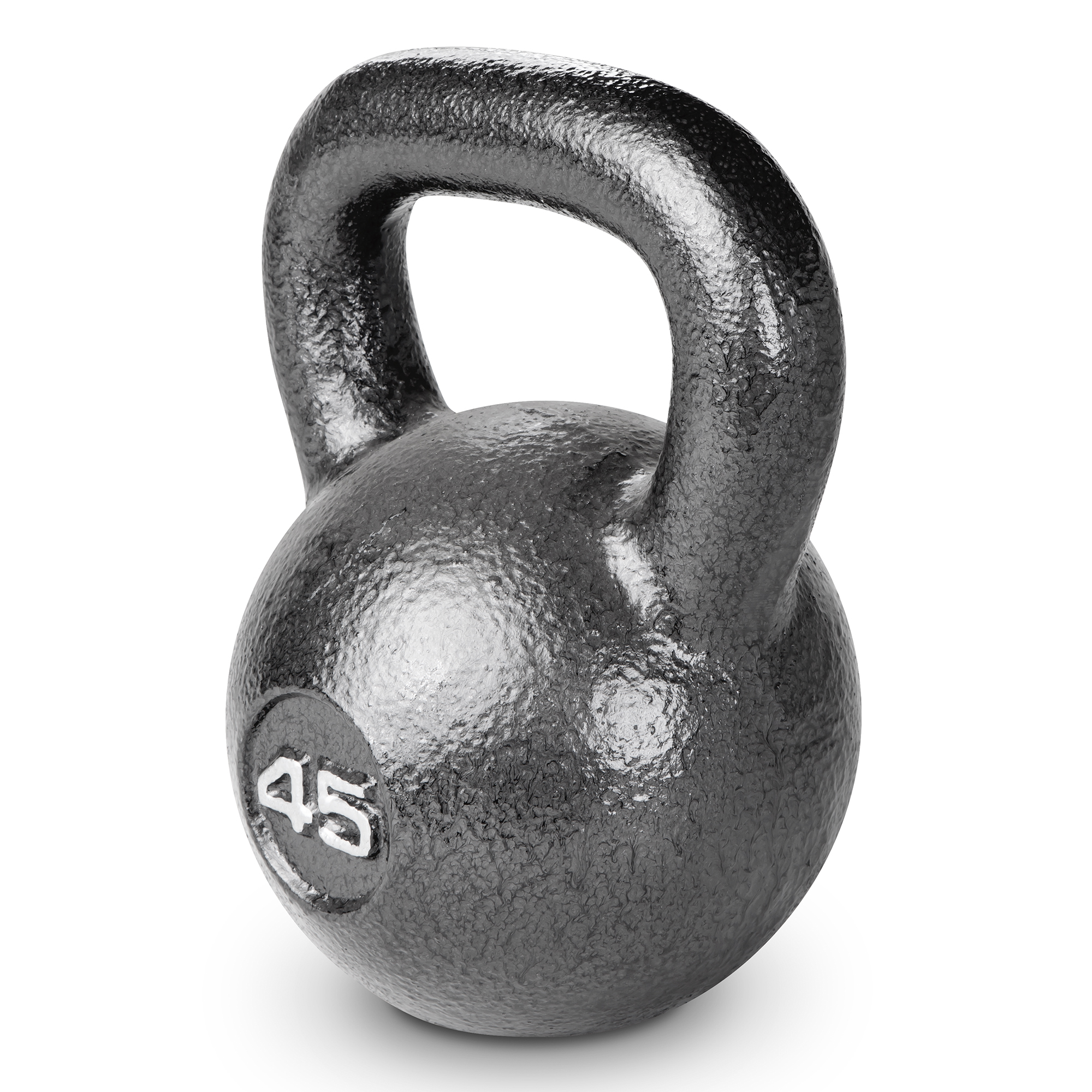 Marcy 45 lb Cast Iron Kettle Bell: HKB-045