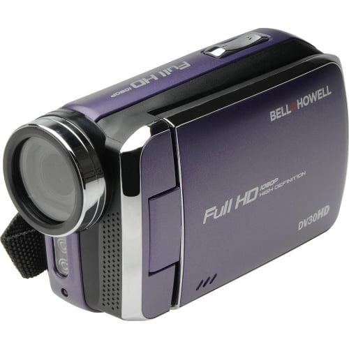 Bell+Howell Purple Dv30hd 1080p Fun-Flix Slim Camcorder