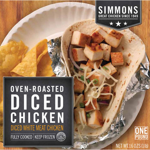 Simmons Oven Roasted Diced Chicken