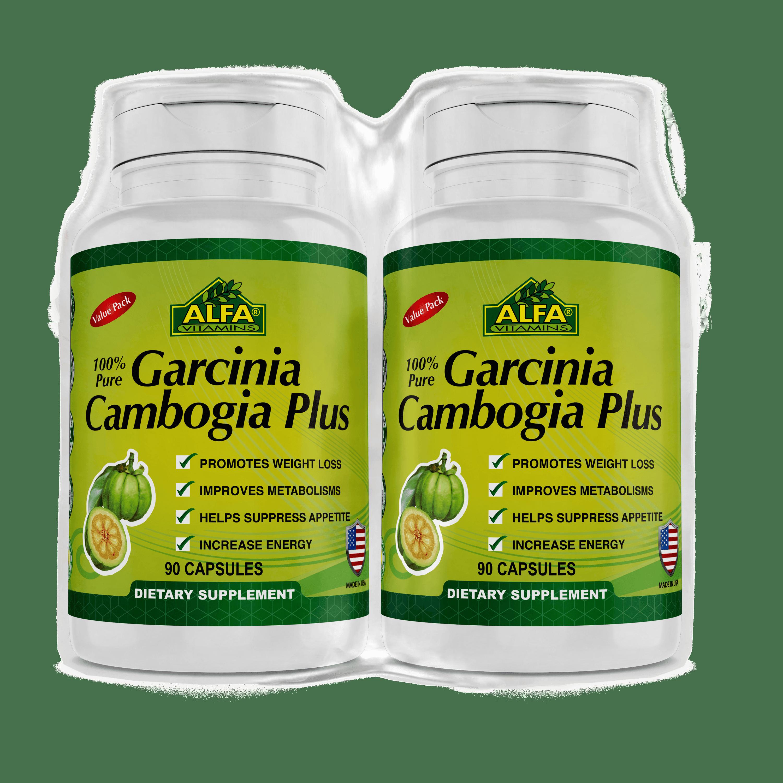 Alfa Garcinia Plus 90 Ct 2 Pk Walmart Com Walmart Com