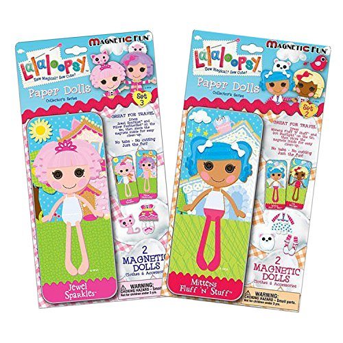 Maven Gifts: Lalaloopsy Magnetic Paper Dolls-Set 2 with Set 3