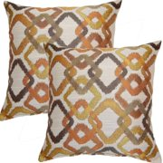 FHT Kala Tanger-inche 17-inch Throw Pillows (Set of 2)