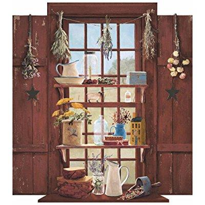 mural portfolio ii country things trample loiel window accent wall sticker