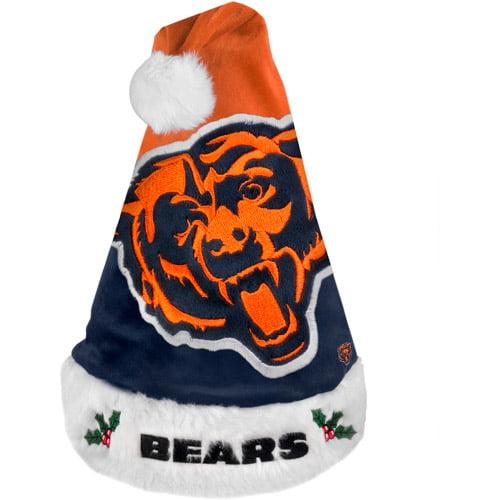 NFL 2011 Colorblock Santa Hat, Chicago Bears