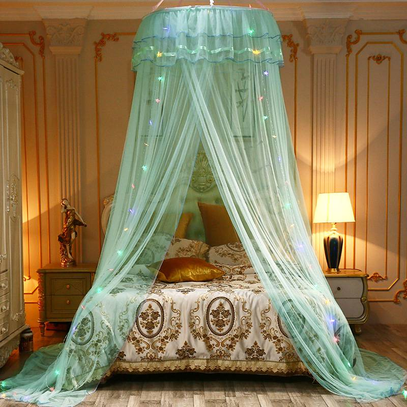 Princess Bed Canopy Baby Kids Reading Play Tents Sleep Mosquito Bed Curtain Net
