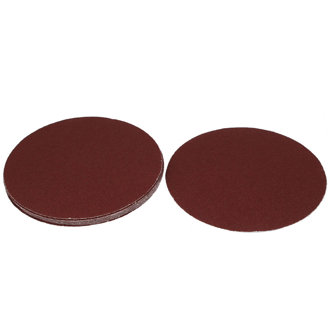 """8"""" Diamètre ronde polissage pon age abrasifs feuille papier verre grain 40 Disque 10 pc - image 3 de 3"""