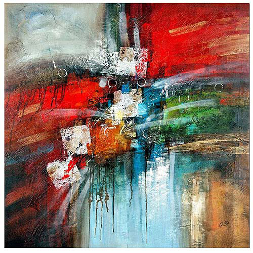 "Trademark Fine Art ""Cube Abstract IV"" Canvas Art by Rio"