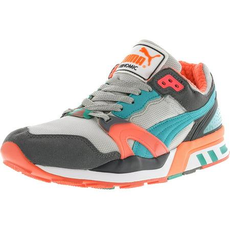 8611401f85c PUMA - Puma Men s Trinomic Xt 2 Steel Grey   Fluorescent Teal Pink  Ankle-High Fashion Sneaker - 9M - Walmart.com