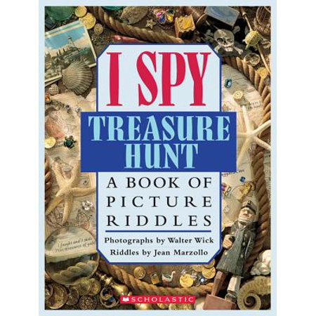 I Spy Treasure Hunt : A Book of Picture Riddles](Clues For A Halloween Treasure Hunt)