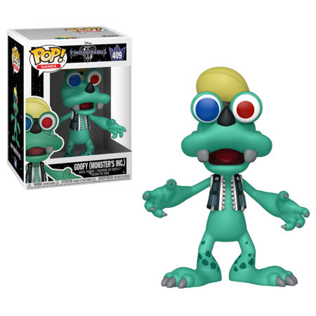 Funko POP! Disney: Kingdom Hearts 3 - Goofy (Monsters Inc.)
