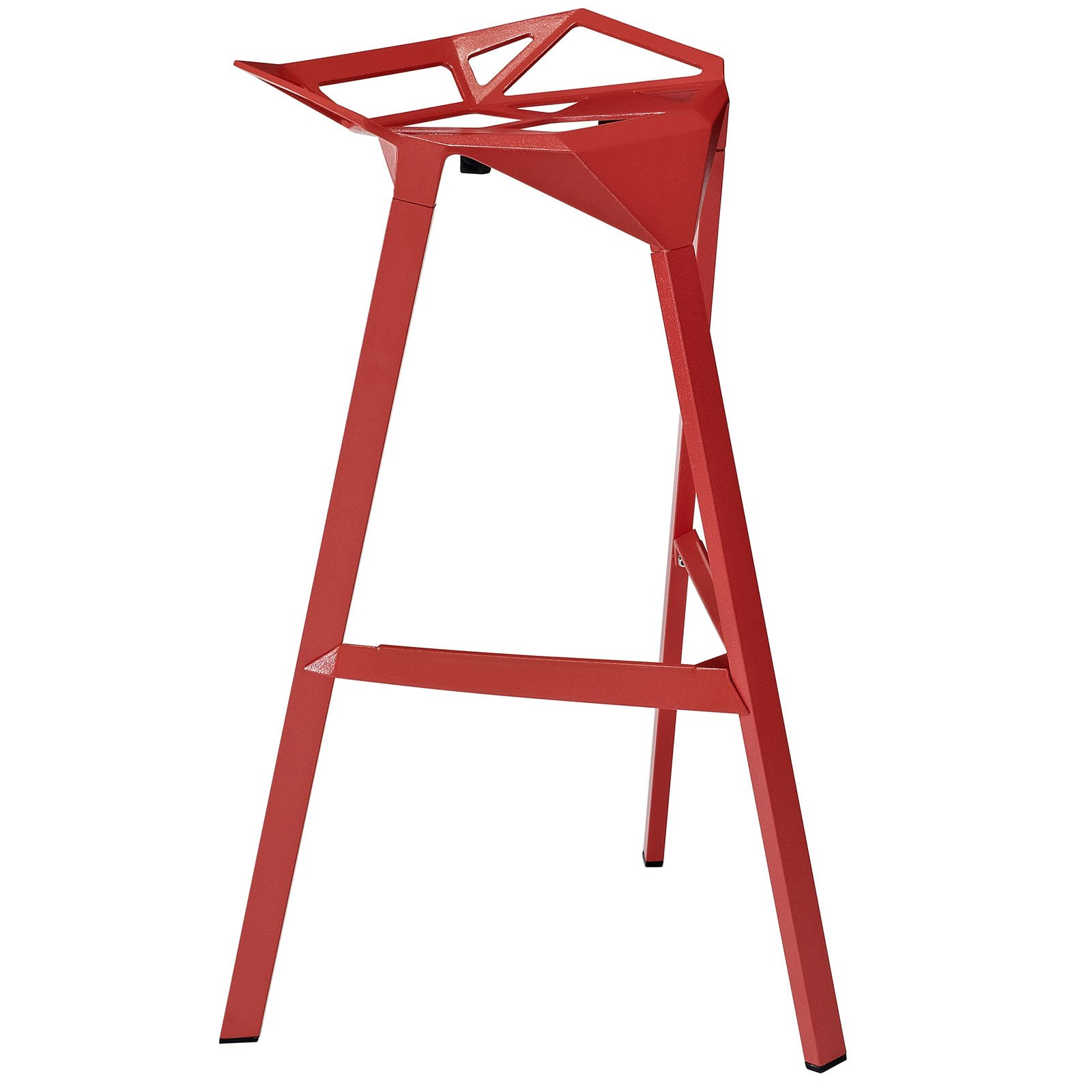 Modway Launch Stacking Bar Stool for Indoor/Outdoor, Multiple Colors