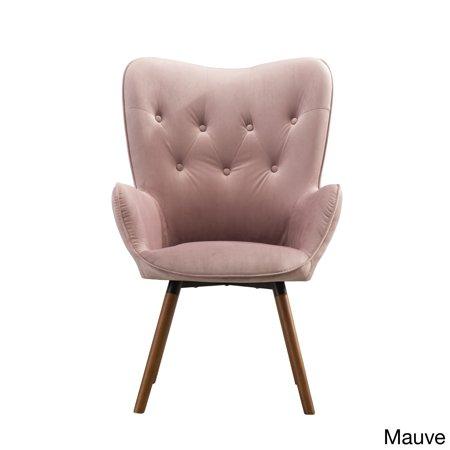 Magnificent Carson Carrington Doarnin Button Tufted High Back Velvet Inzonedesignstudio Interior Chair Design Inzonedesignstudiocom