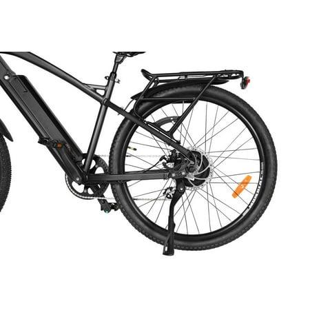 "T4B Enduro Hard Tail City and All Terrain Bike - Bafang 350W Brushless Electric Motor, 8 Speed, Samsung Li-Ion Battery 36V13Ah, 27.5"" Tires - Black - image 6 de 12"