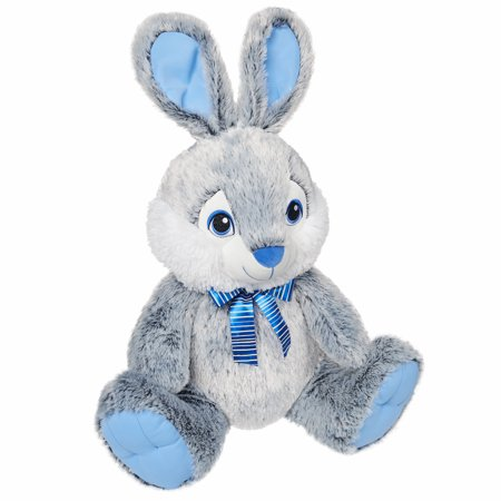 Way To Celebrate Easter Chubby Cheeks Plush, Rabbit