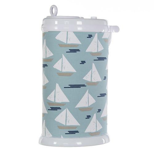 Little Sail Boat Ubbi Diaper Pail Cover (Sail Boat) by Glenna Jean