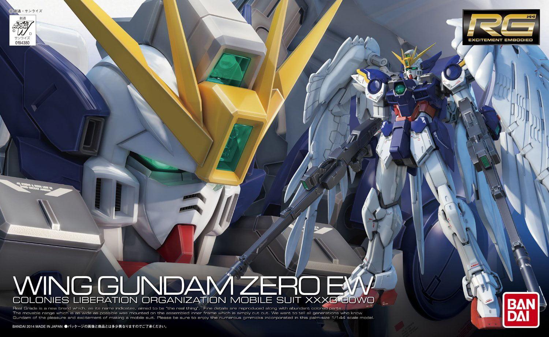 Bandai Hobby Gundam #17 RG Wing Zero EW 1 144 Scale Model Kit by Bandai Hobby
