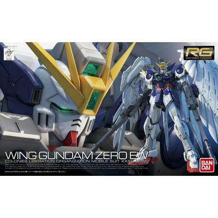 Bandai Hobby Gundam #17 RG Wing Zero EW 1/144 Scale Model Kit ()