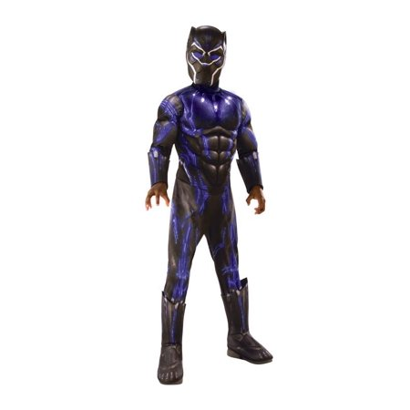 Rubies Costume Co Deluxe Black Panther Child Halloween - Superhero Halloween Costumes For Kids