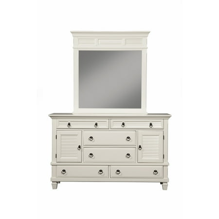 Alpine Furniture Winchester 2 Cabinet & 6 Drawer