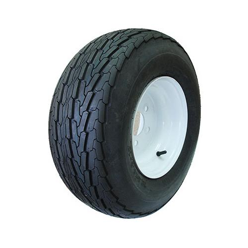 Sutong China Tires Resources ASB1018 Wheelbarrow Tire & Wheel Assembly, 5-Hole, 20.5 x 8.00-10 - Quantity 1