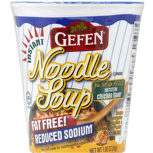 Gefen Chicken Flavor Noodle Soup, 1.92 oz, (Pack of 12)