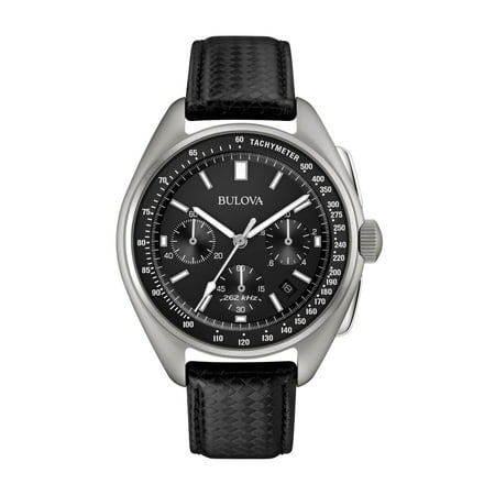 Mens Moon Chronograph - Special Edition - Black Leather Strap - (Montblanc Timewalker Extreme Chronograph Dlc Special Edition)