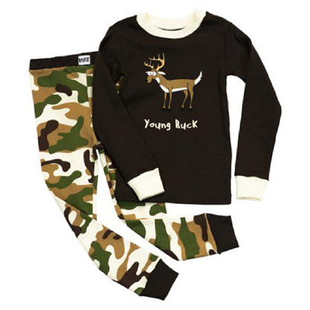 0bac08681 Lazy One - Lazy One Young Buck Kids PJs - 10 - Walmart.com