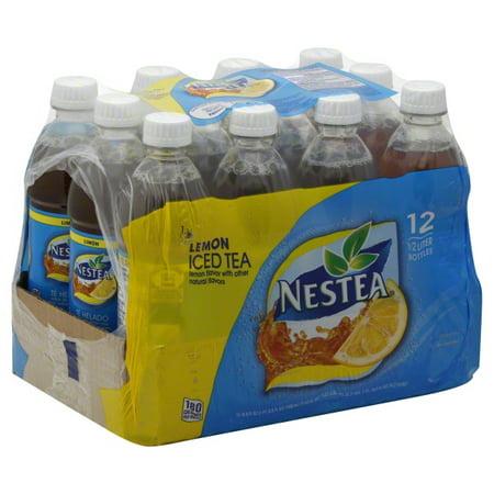 Nestea Lemon Iced Tea, 16.9 fl oz, 12 pack - Walmart.com