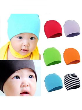 f8a0f9b4e57 Product Image Unisex Baby Toddler Infant Beanie Hat Cotton Soft Double  Layers Photo Prop Cap