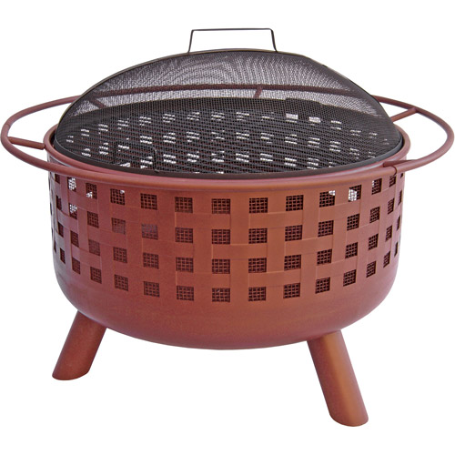Landmann City Lights Memphis Fire Pit, Black