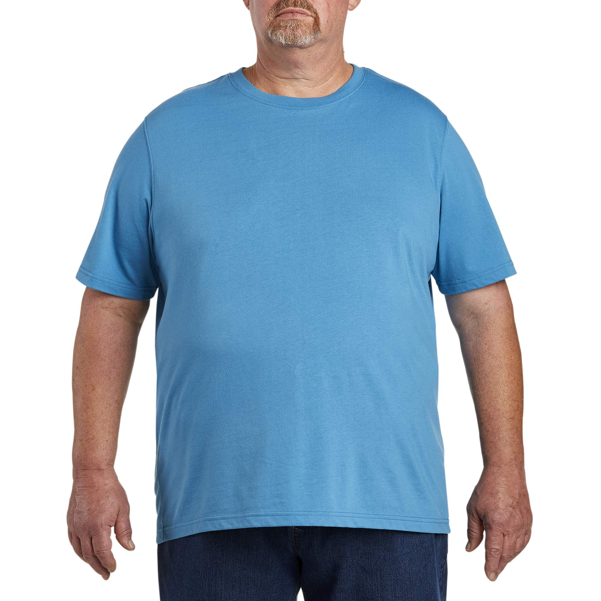 Image of 555 Turnpike Men's Big & Tall Wicking Jersey No Pocket Tee