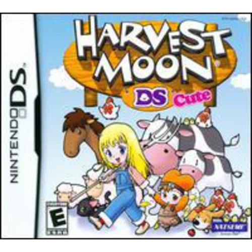 "HARVEST MOON: DS CUTE ""E"" ONLY NDS"