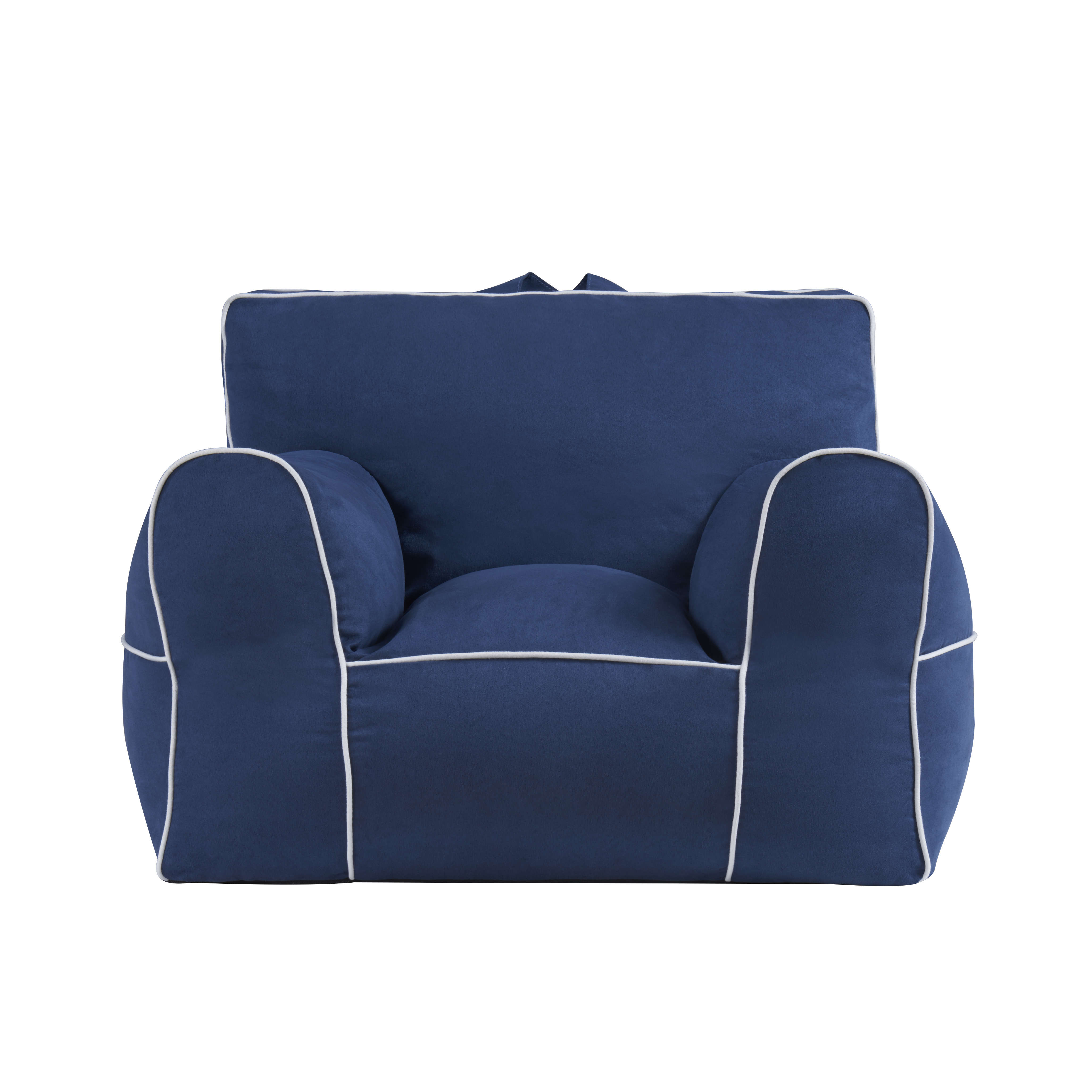 Swell Mainstays Microfiber Large Bean Bag Chair Multiple Colors Alphanode Cool Chair Designs And Ideas Alphanodeonline