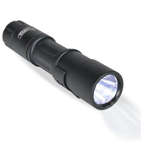 Cobra TacLight 1W LED Water Resistant Flashlight w/Holster & Nylon Lanyard