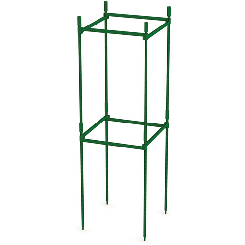 "Emsco Group 2330-1 Crop Prop Square 36"" High Trellis, Snap Together Support Kit by EMSCO Group"