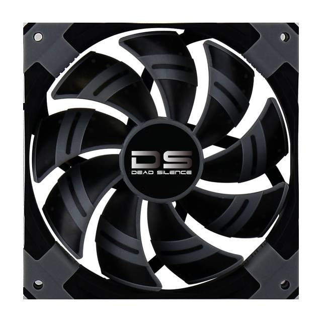 Aerocool DS120MMBLACK Dead Silence 120mm Black Case Fan
