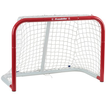 "Franklin Sports NHL Hockey 28"" Mini Steel Goal for Pond, Street, or Mini Hockey Play"