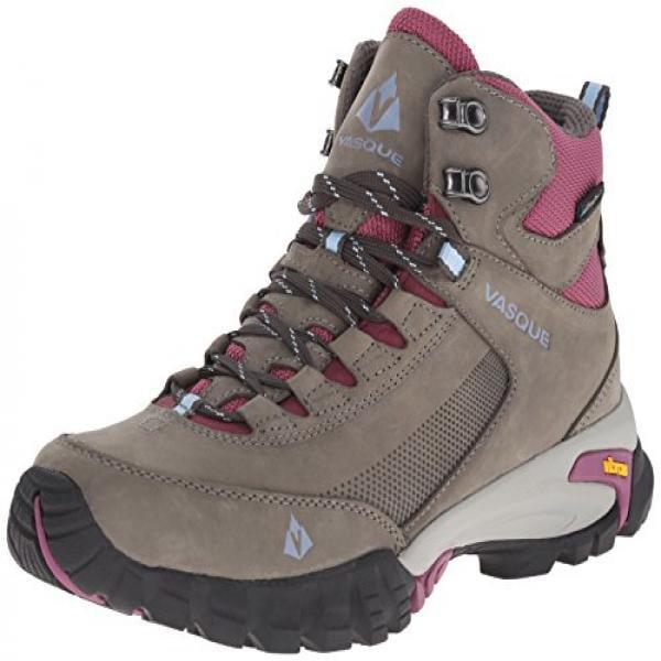 Vasque Women's Talus Trek UltraDry Hiking Boot, Gargoyle Damson, 10 M US by
