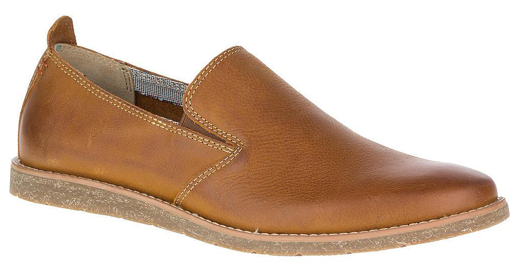 Hush Puppies Mens Hoyt Jester Leather Slip On Loafers by Hush Puppies