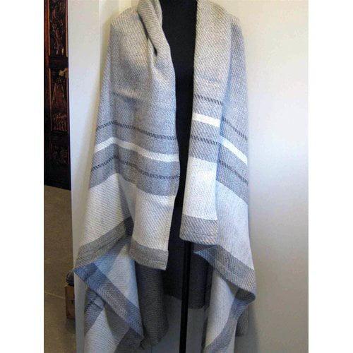 Gracie Oaks Sella Wool Throw
