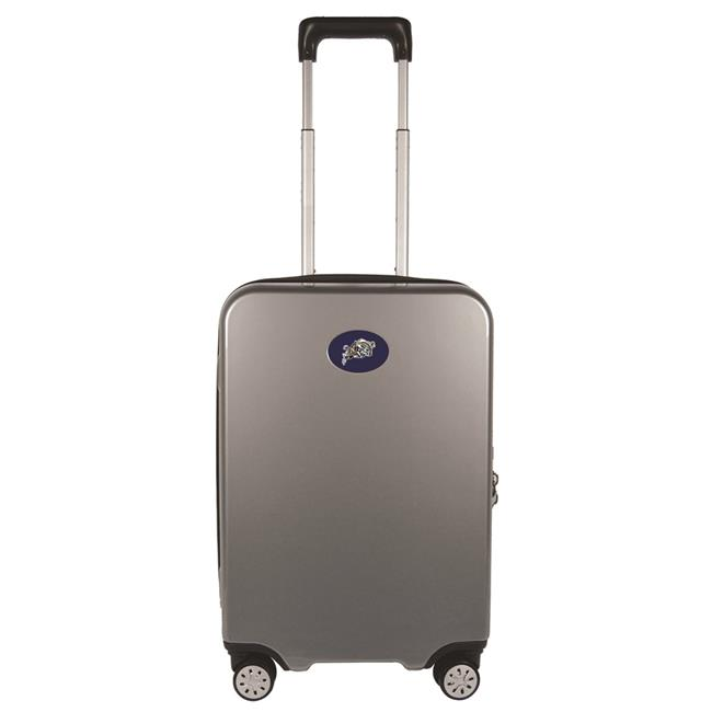 Mojo Licensing CLNVL240-GRAY 22 in. NCAA US Naval Academy Luggage Carry-on Hard Case Spinner 100 Percent PC, Gray - image 1 de 1