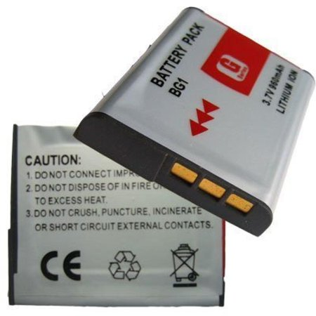 Lithium Ion Camera Battery for Sony G Type NPBG1 NP-BG1