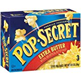 Pop Secret Extra Butter 3 pk Microwave Popcorn 10.5 oz (Pack of 2)