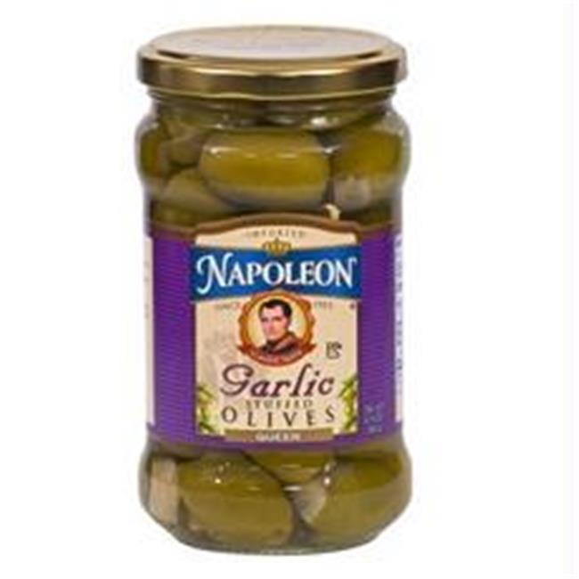 Napoleon B23831 Napoleon Garlic Stuffed Olives  -12x6. 5oz