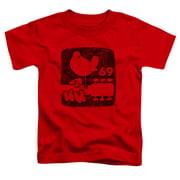 Woodstock - Summer 69 - Toddler Short Sleeve Shirt - 2T
