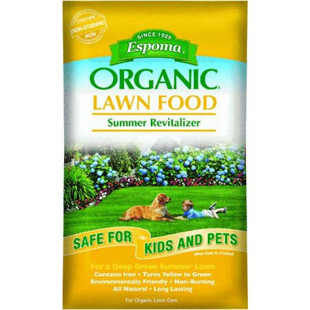 Espoma Organic Summer Lawn Fertilizer