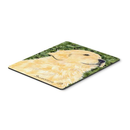 Golden Retriever Mouse Pad / Hot Pad / Trivet