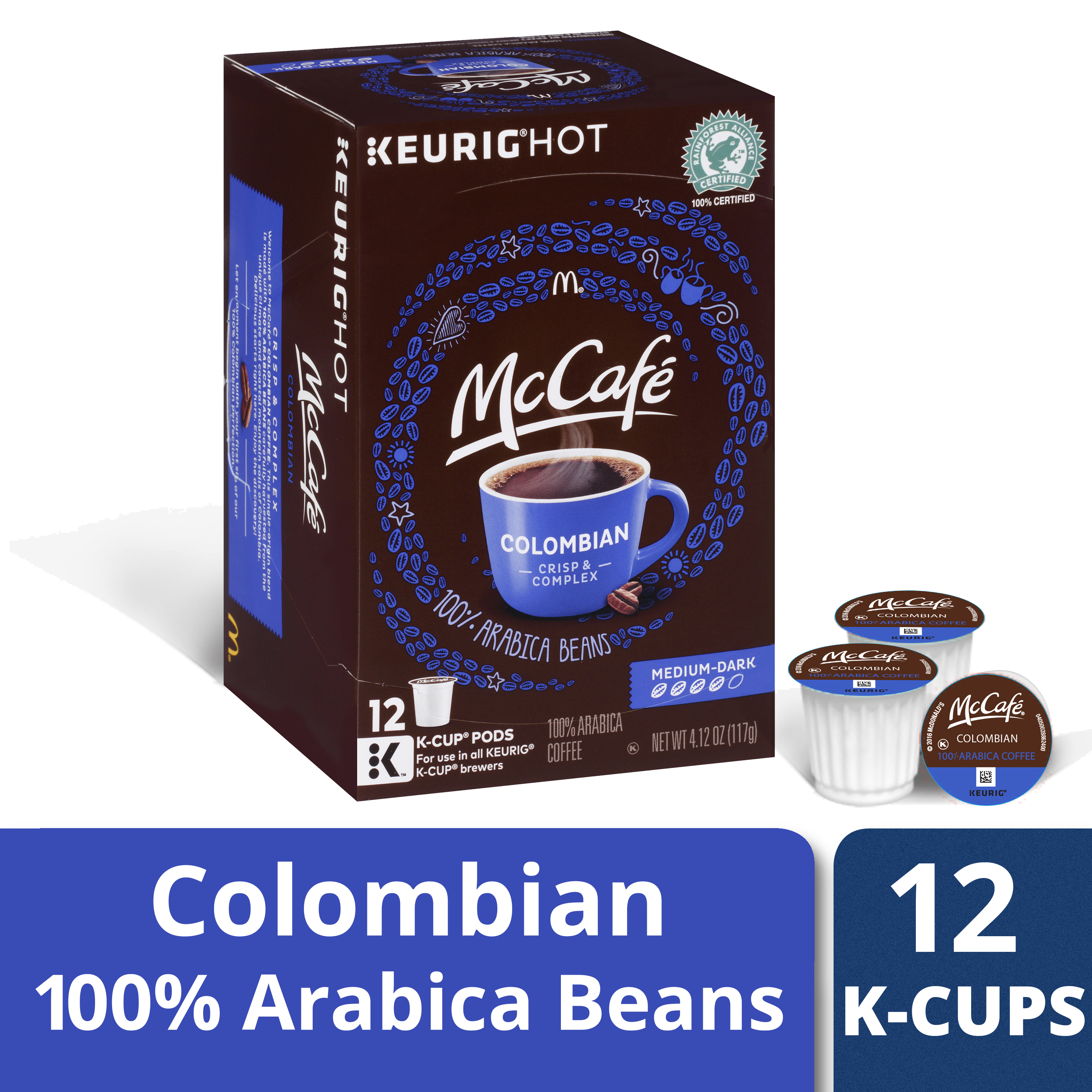 McCafé Colombian Coffee K-Cup Pods, 12 count