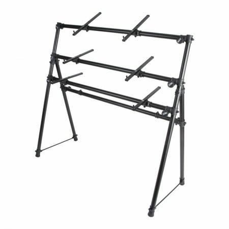 On-Stage KS7903 3-Tier A-Frame Keyboard Stand - Walmart.com