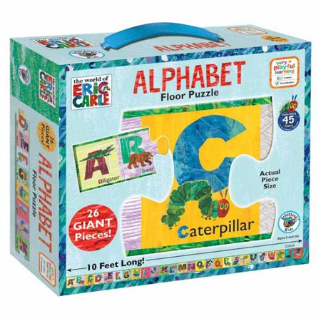 - The World of Eric Carle Alphabet Floor Puzzle